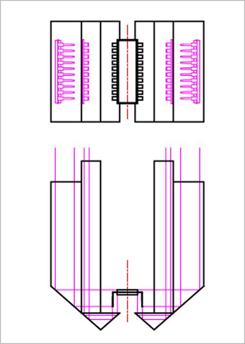 複合クロビット 画像の集約の説明図