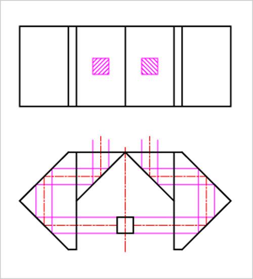 カニ足クロビットの説明図