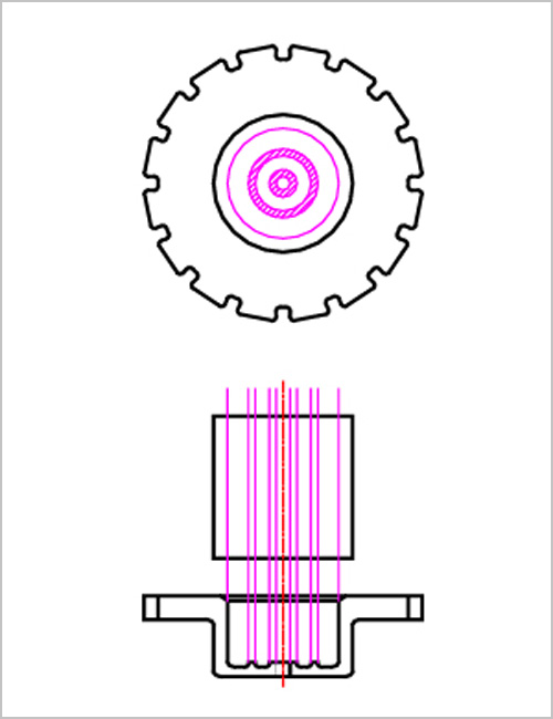 棒状クロビットの説明図